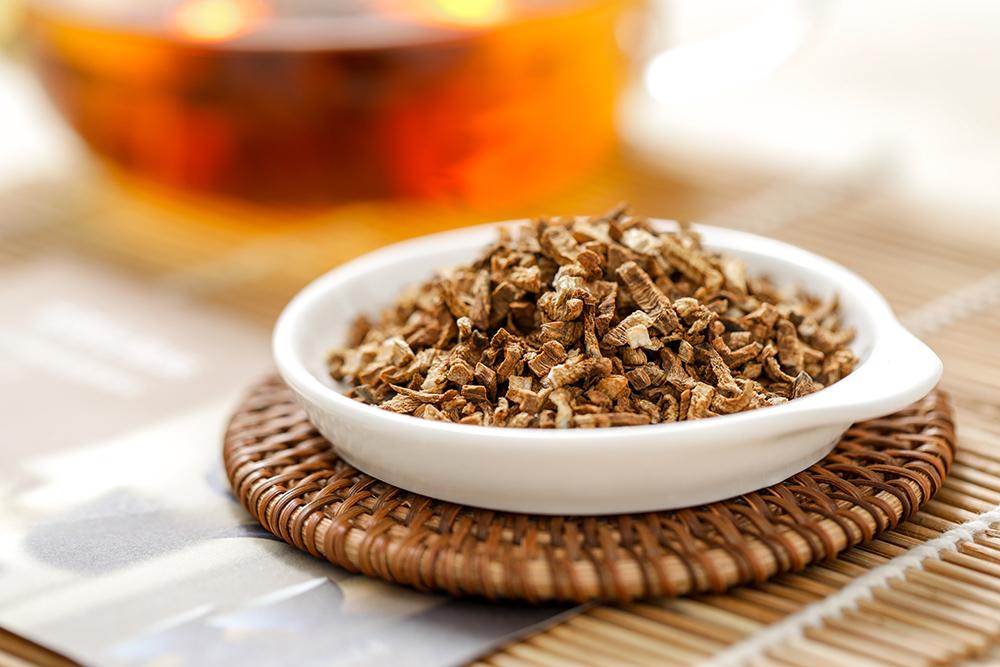 牛蒡茶是什么 降压防癌治痔疮