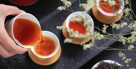 晚饭喝杯普洱茶有益健康