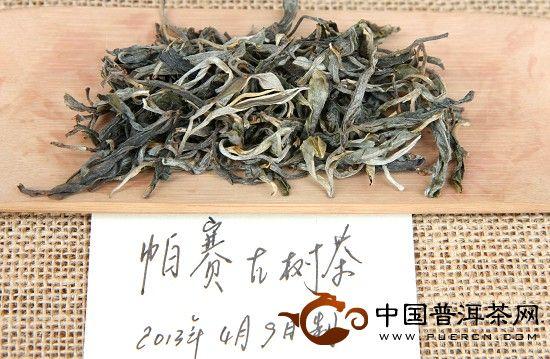 """""""曼妙香气,萦绕唇齿""""是帕赛古树茶之独特风格!"""